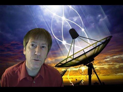Aliens interrupt a BBC television broadcast