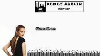 Demet Akalın - Yekten feat. Haktan (ŞARKI SÖZLERİ & LYRICS)