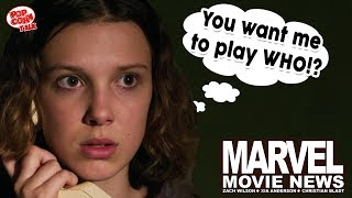 Marvel Movie News: Millie Bobby Brown to the MCU?! Plus, Far From Home Easter Egg Hunt!
