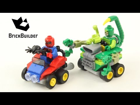 Vidéo LEGO Marvel 76071 : Mighty Micros : Spider-Man contre Scorpion