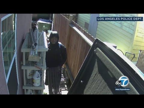 Suspect sought in series of burglaries in San Pedro | ABC7
