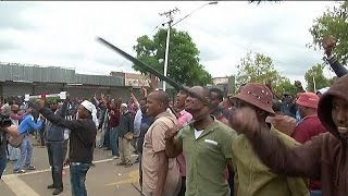 Violence erupts between locals and migrants in South Africa