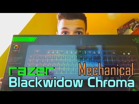 Razer Backwidow Chroma Gamer billentyűzet (US)