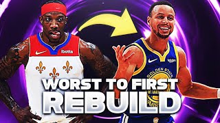 The Worst To First Rebuild in NBA 2K21!