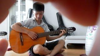 preview picture of video 'Học guitar Bài 5 NHỎ ƠI (+ Hợp âm Chord)'
