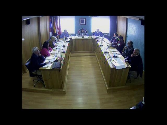 Pleno Ordinario (05 de marzo de 2018)