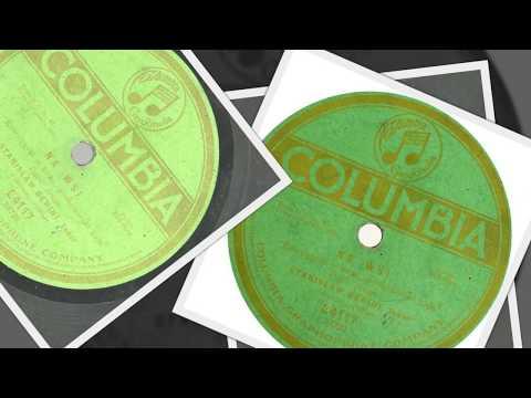"""Polish 78rpm recordings, 1918. Columbia E4117. Na Wsi-""""Pięknie jest to na wsi """"-Pt . 1&2"""