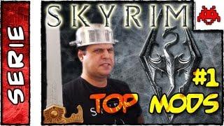 TOP SKYRIM MODS #1 . Como Instalar, Desinstalar e SKSE Script . HD