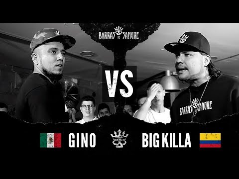 BDS 3: Gino 🇲🇽 vs Big Killa 🇨🇴  [ Batallas Escritas ] ( Host: JKE - Crew Peligrosos )