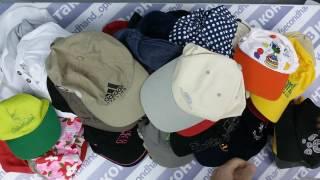 Caps mix- кепки и прочее англ 3пак 6кг 13.30€/кг ~95шт