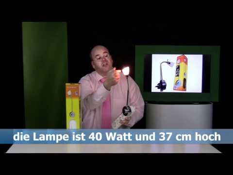 Produkt Video Flex Lampe Steckdosen Lampe mit Online-Moderator Rene Kogelman