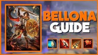 Smite - The Complete Bellona Guide for Season 5   Solo Lane