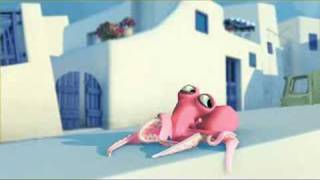 Octopus in Love funny animation