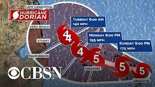 Hurricane Dorian Slams Bahamas As Monster Category 5 Storm