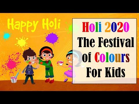 #Holi_2020 The Festival of Colours For Kids