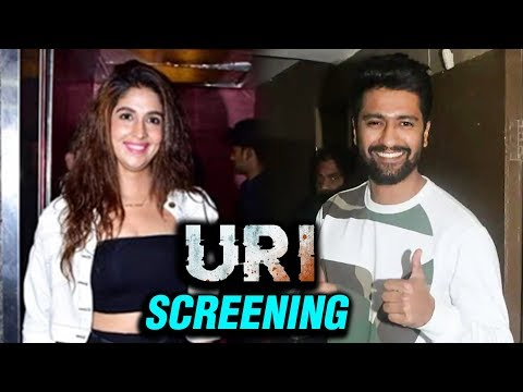 Vicky Kaushal With Girlfriend Harleen Sethi Watch
