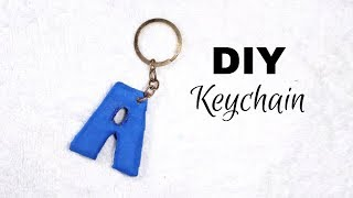 DIY Keychain/Alphabet Keychain Tutorial/DIY Crafts