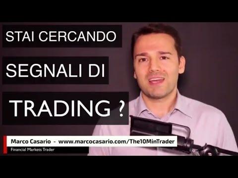 Software per segnali di trading