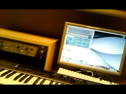 Dman In the studio