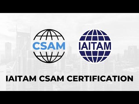 IAITAM CSAM Certification - YouTube