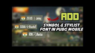 Pubg Mobile Name Symbol - Pubg Mobile Lite Hack Apk Download