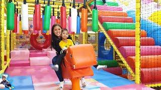 น้องบีมลูกแม่บี   เล่นสวนสนุก ฮาร์เบอร์แลนด์ เกทเวย์เอกมัย Indoor Playground คลิปเต็ม
