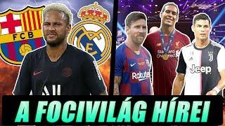 Íme a legfrissebb fejlemények Neymar ügyében! Három jelölt maradt az Év játékosa-díjra! ► Foci Hírek