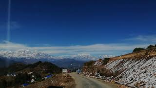 preview picture of video 'Pattale Bazar Solukhumbu views of Mountains'