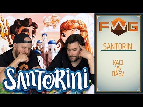 Santorini | Felhúzzuk az épület (Kaci vs daev) - Fun With Geeks