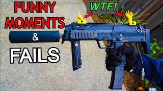 CRAZY FAILS/FUNNY MOMENTS Of AIRSOFT! *ULTIMATE COMPILATION*