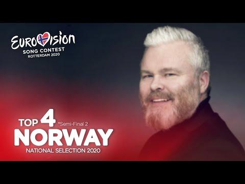🇳🇴: Eurovision 2020 - Melodi Grand Prix 2020 - Semi-Final 2 - Top 4