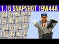 Minecraft 1.15 Snapshot 19w44a The Hoglin, Stackable Honey Bottles! & Crazy Evoker Fangs