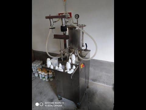 Semi Automatic Nail Polish Filling Machine