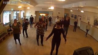 Kursavslitning VT-18 / söderhamns linedancers / Eyes for you