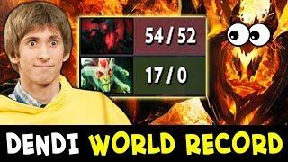 Dendi WORLD RECORD denies at 10 min — mid DESTROYED NaVi vs SGE