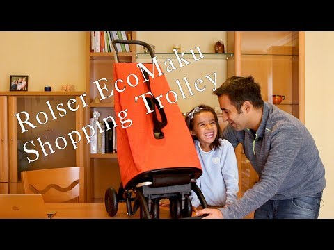 Rolser EcoMaku Shopping Trolley Unboxing Review