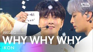 iKON(아이콘) - WHY WHY WHY(왜왜왜) @인기가요 inkigayo 20210314
