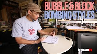 How To Write Bubble & Block Letters | Graffiti for Beginners (Sanoizm)