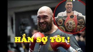 Phía Tyson Fury CHỬI THẲNG MẶT Đề Nghị Của Phía Anthony Joshua Cho Trận Quyết Đấu