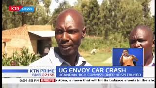 Ugandan High Commissioner crashes in Bungoma County