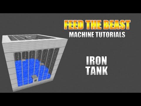 Feed The Beast :: Machine Tutorials :: Iron Tank