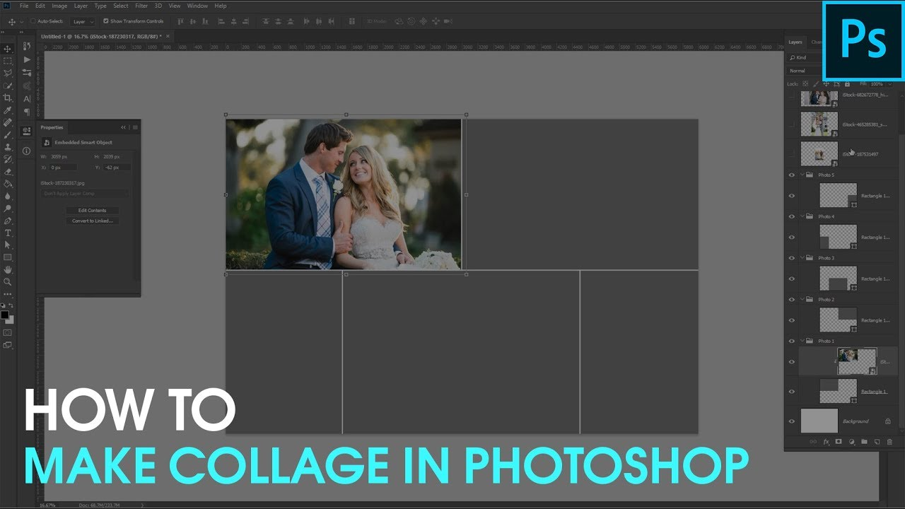 How To Make A Collage In Photoshop Free Photoshop Collage Templates