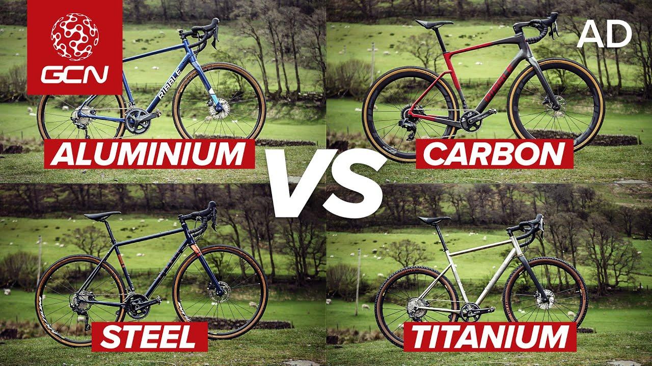 Carbonio VS Alluminio VS Titanio VS Acciaio