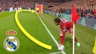 خلال هذه اللقطة أثبت محمد صلاح أنه يستحق أن يكون في ريال مدريد !!