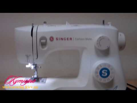 Відео огляд швейних машин SINGER Fashion Mate 3333, 3337, 3342