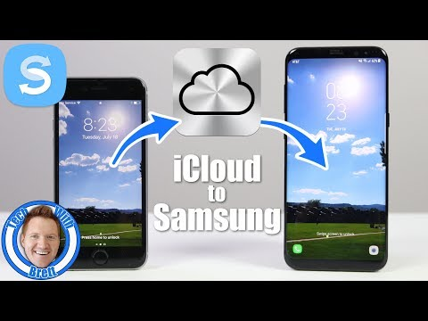 download icloud to samsung with smart switch on galaxy s8