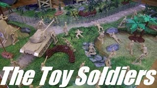 Hulyan and His Toy Soldiers! Soldier Toys Playset Unboxing and Playtime Fun. Toys R Us Toys