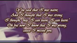 Stay (I Missed You) - Lisa Loeb With Lyrics