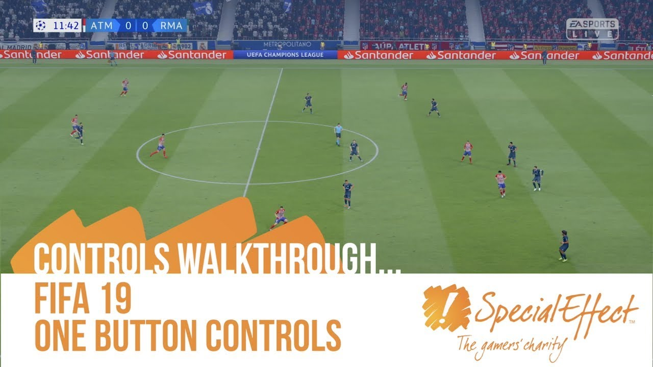 video placeholder for FIFA 19 One Button Controls | Controls Walkthrough