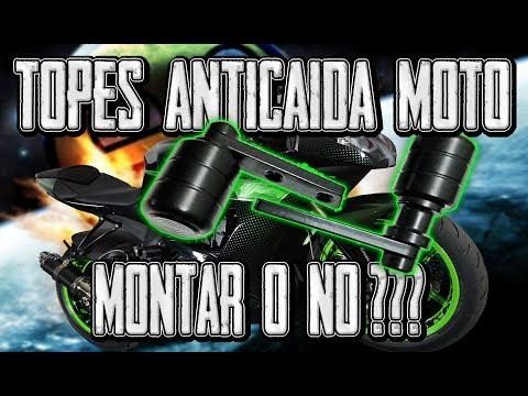 TOPES ANTICAIDA MOTO !!! MONTAR O NO MONTAR PROTECTORES ANTI CAIDA ???